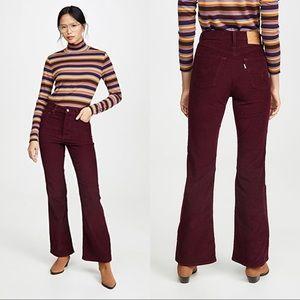 Levi's • NWT Ribcage Flare Corduroy Jeans